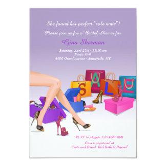 Shoe Craze Invitation