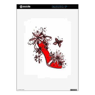 Shoe Decal For The iPad 2