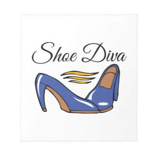 Shoe Diva Notepad