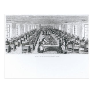 Shoe Factory Postcard