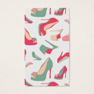 Shoe Fashion Business Card
