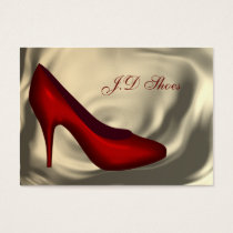 Shoe Fashion business cards