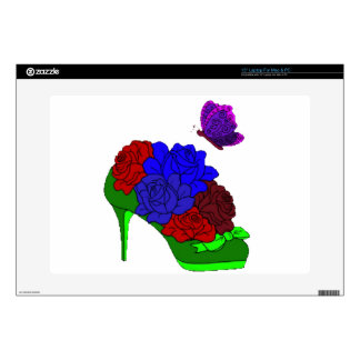 "Shoe garden skin for 15"" laptop"