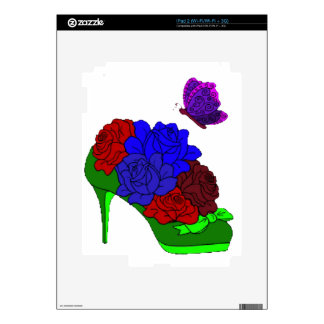 Shoe garden skin for the iPad 2