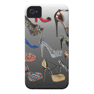 Shoe High Heels Collage Customize Case-Mate iPhone 4 Case