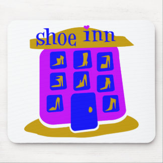 Shoe Inn With Shoes And Boots Mousepads