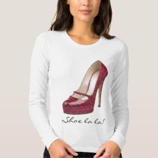 Shoe la la! shirt
