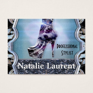 Shoe Love Business Card at Zazzle