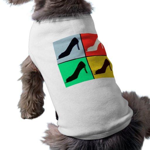Shoe Love Fashion Pumps Dog Tee