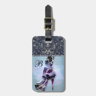 Shoe Love Monogram Tag For Bags