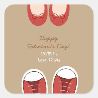 Shoe Love Valentine's Day Sticker