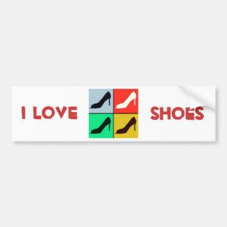 Shoe Lover Bumper Sticker