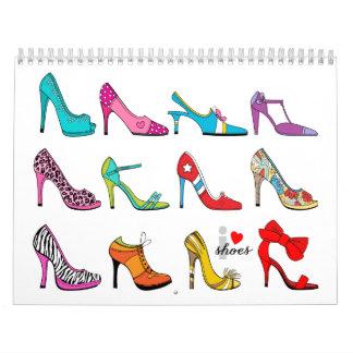 Shoe Lover Calendar