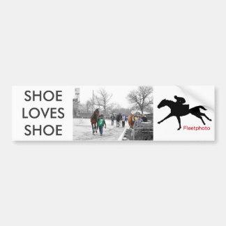 Shoe Loves Shoe Bumper Sticker