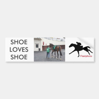 Shoe Loves Shoe FTS Bumper Sticker