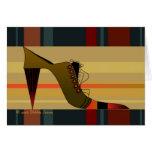 Shoe Mania VIII by Debbie Jensen Card