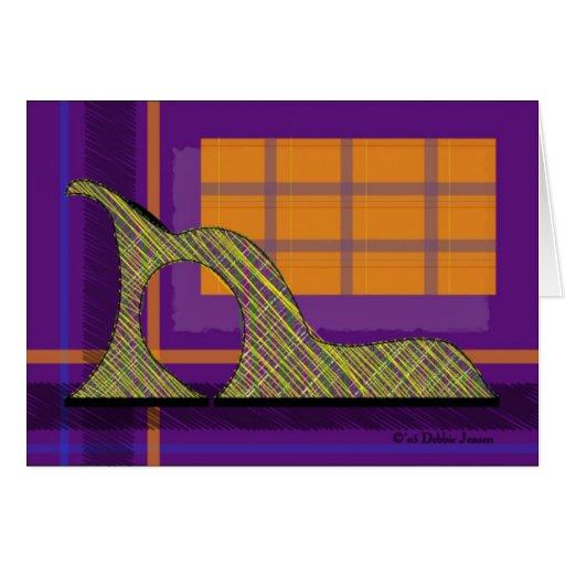 Shoe Mania X by Debbie Jensen Card