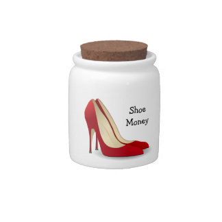 Shoe Money Jar Candy Dishes