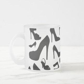 shoe pattern.ai frosted glass coffee mug