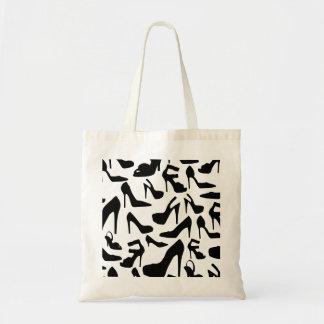 shoe pattern.ai tote bag