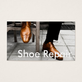 Shoe Repair Business Card's Business Card
