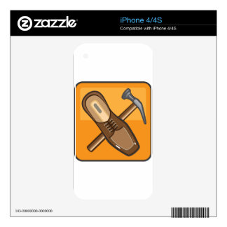 Shoe Repair Icon Skin For iPhone 4S
