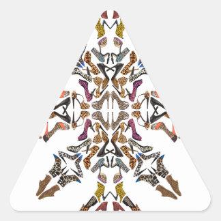 Shoe-Scope Triangle Sticker