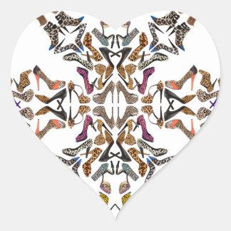 Shoe-Scope Heart Sticker