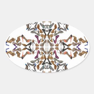 Shoe-Scope Oval Sticker