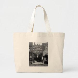 Shoe Shine Parlor, 1920s Canvas Bags