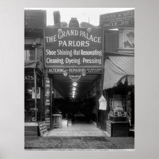 Shoe Shine Parlor, 1920s Poster