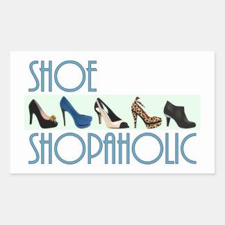 shoe shopaholic rectangular altavoces