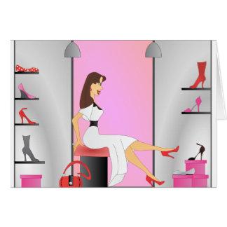 Shoe Shopping Card