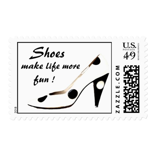 Shoe stamps for Women who love shoes !