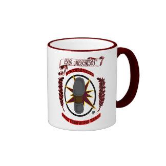 shoe thrower ringer coffee mug