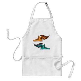 Shoe Wing. Fast. Adult Apron