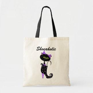 Shoeaholic Trick or Treat Bag