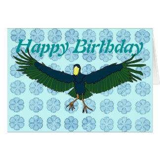 Shoebill greetings card