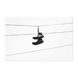 Shoefiti Impresión En Lienzo Estirada