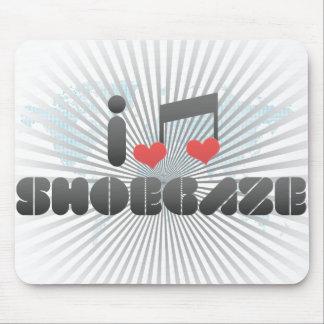 Shoegaze fan mousepad