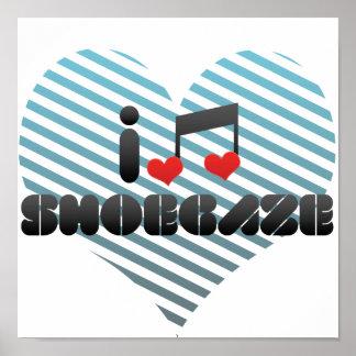 Shoegaze fan print