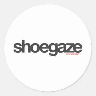 Shoegaze Classic Round Sticker