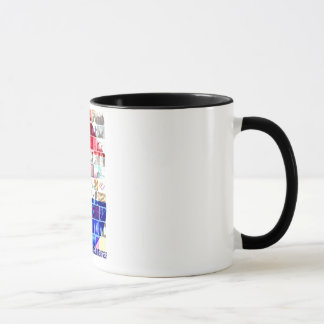 Shoegazing AT The Scene mug
