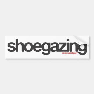 Shoegazing Bumper Sticker