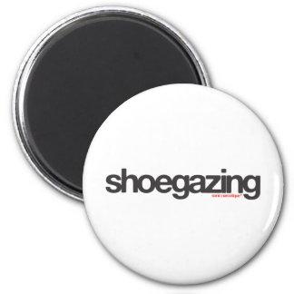 Shoegazing 2 Inch Round Magnet