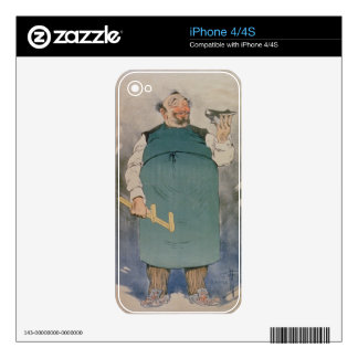 Shoemaker (colour litho) decal for the iPhone 4S