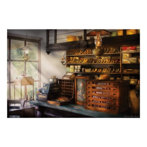 Shoemaker - Shoes for sale Print