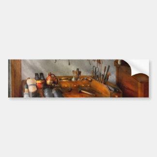 Shoemaker - The cobblers shop Bumper Sticker