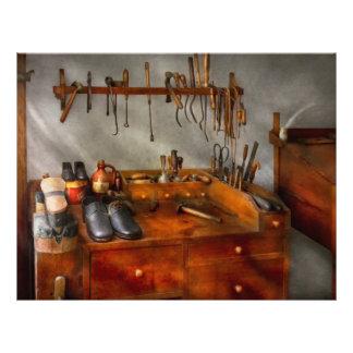 """Shoemaker - The cobblers shop 8.5"""" X 11"""" Flyer"""