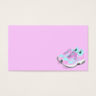 shoes-157716 CUTE PINK ATHLETIC RUNNERS STYLISH  s Business Card